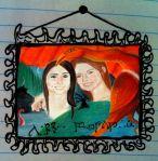 Custom Kids Art Oil Pastel Painting