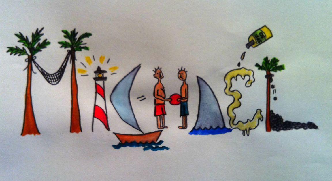 Name Art: Kids Art By Natalie